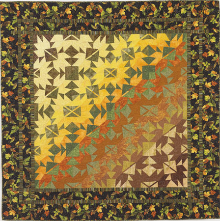 Free Autumn Quilting Patterns - Falling Leaves II
