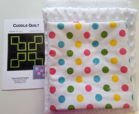 Cuddle Quilt - Polka Dot